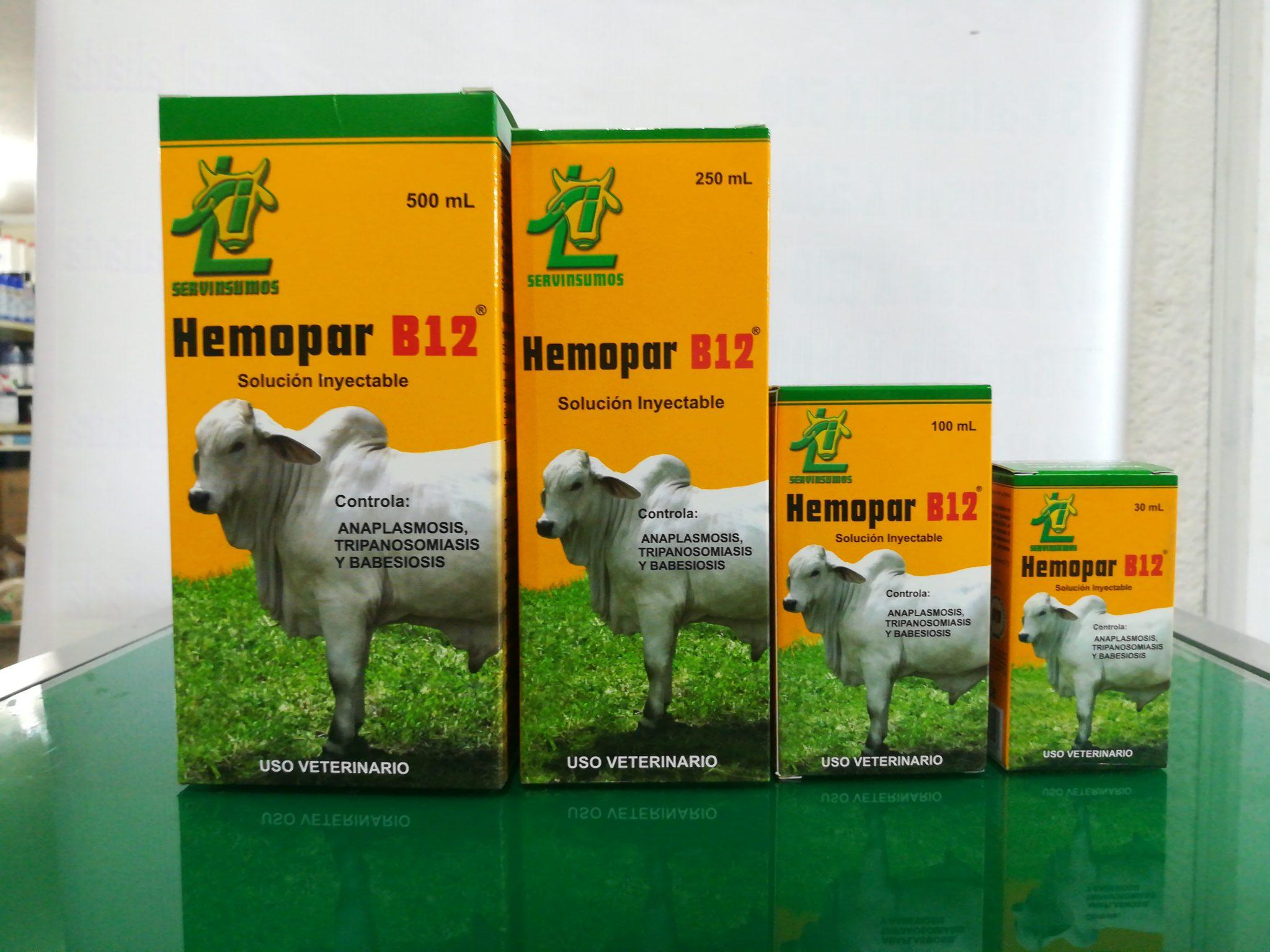 HEMOPAR B12 X 30 ML