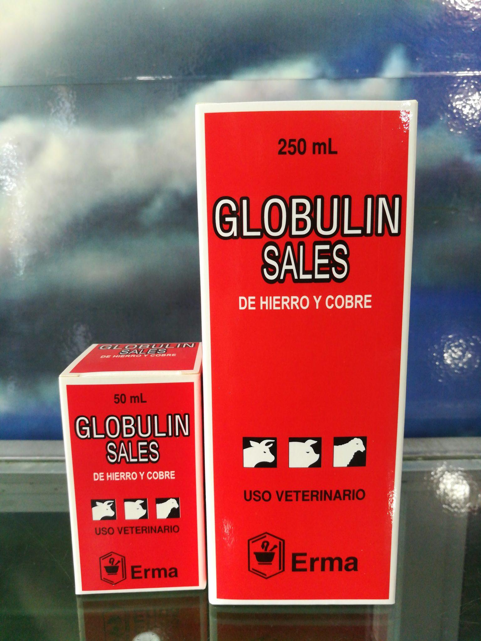 GLOBULIN  B INY. FRASCO X 50 ML ERMA