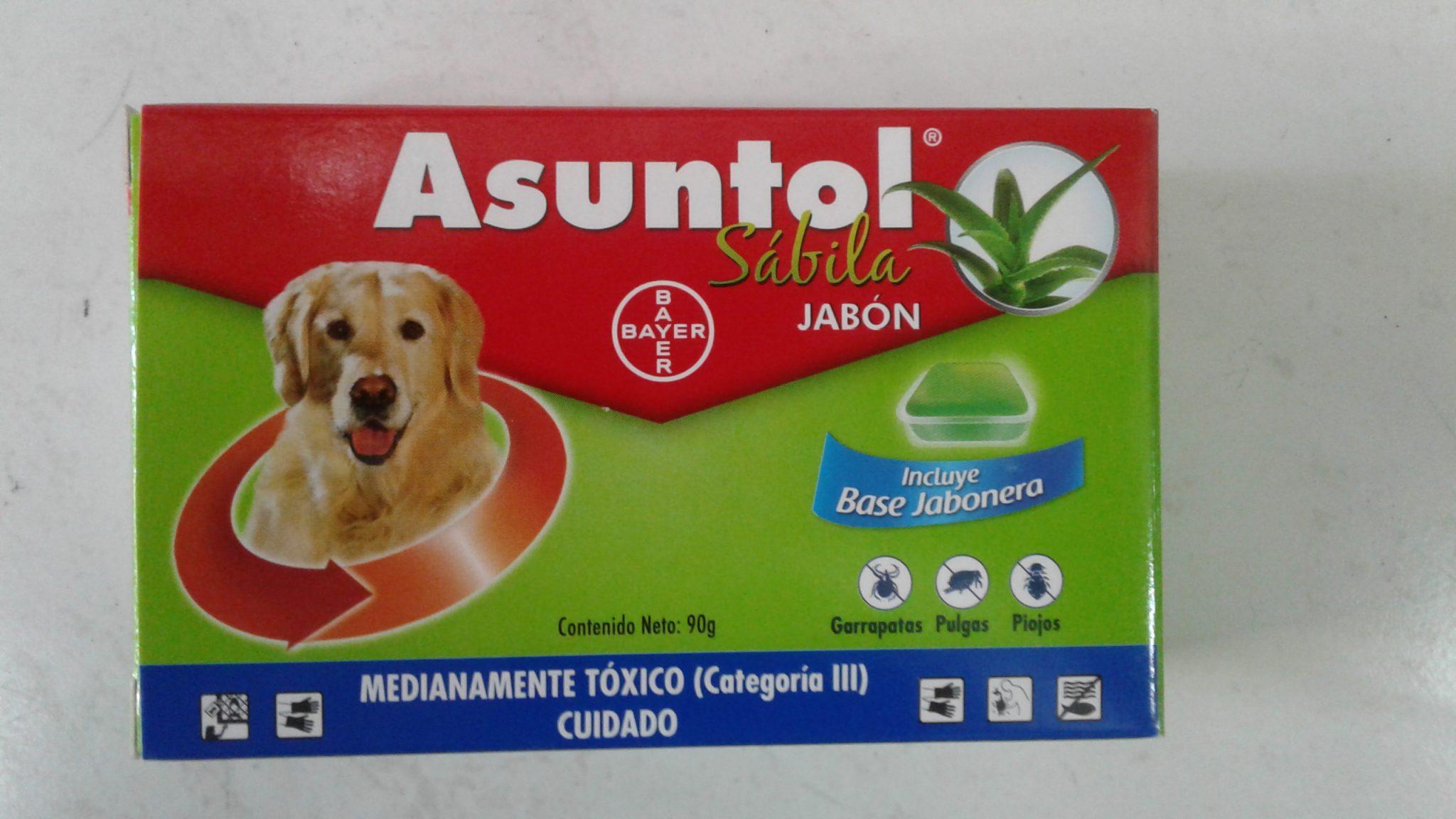 ASUNTOL JABON SABILA X 90 GR BAYER