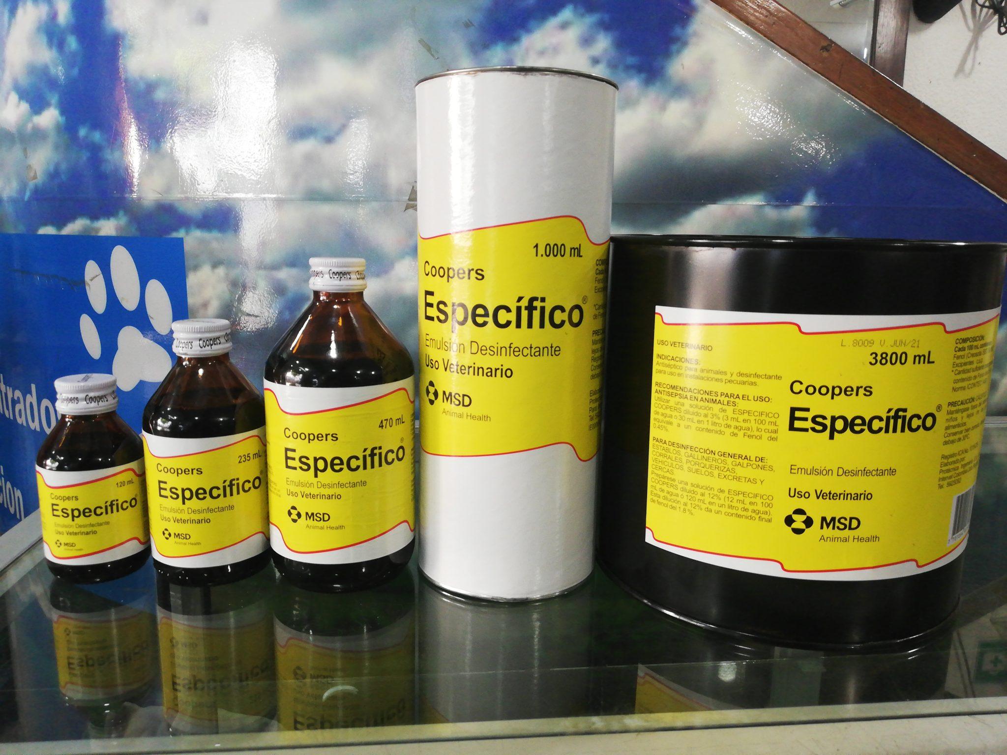 ESPECIFICO X 470 ML SCHERING