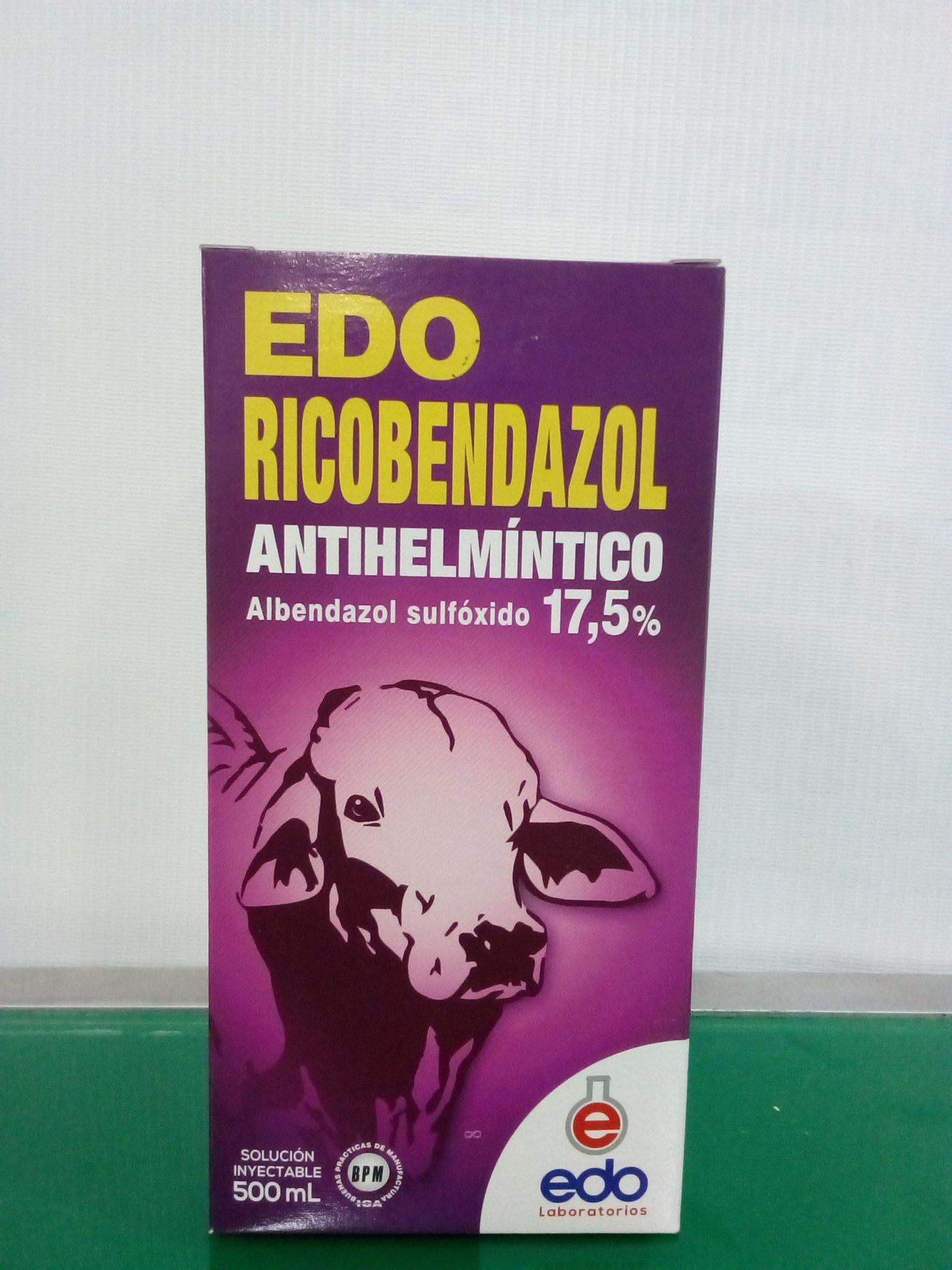 RICOBENDAZOL X 500ML