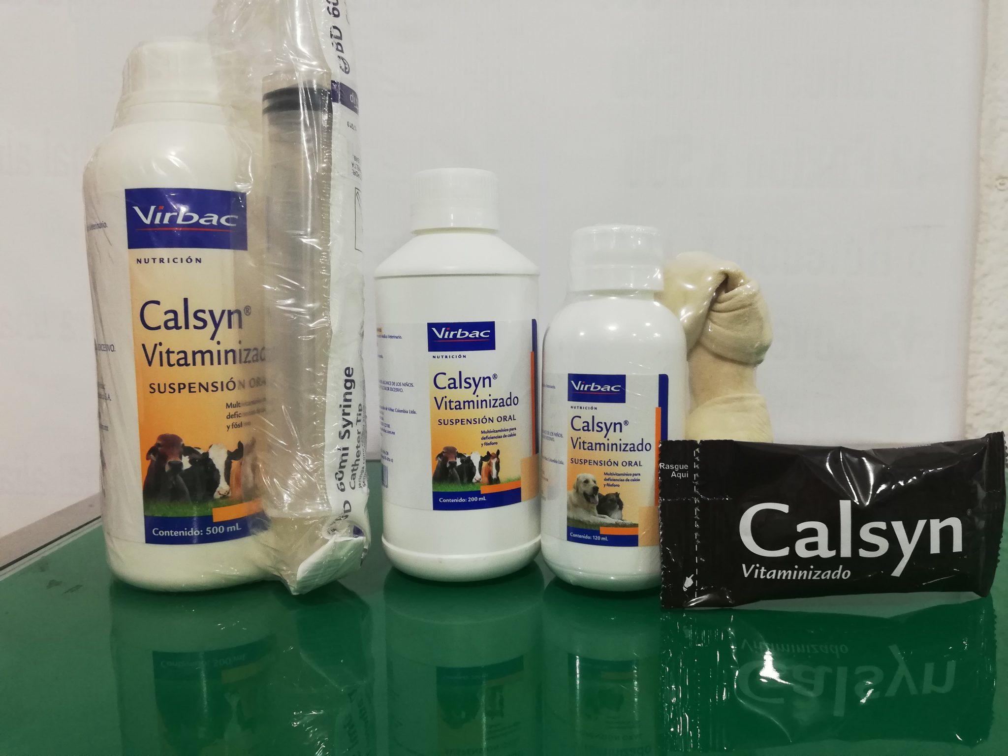 CALSYN COJIN X 30 ML