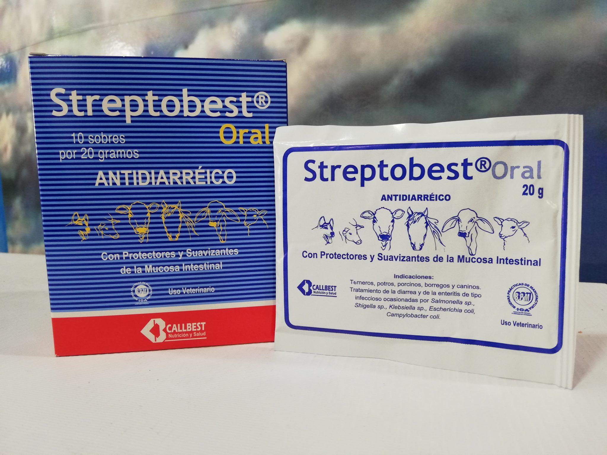 STREPTOBEST ORAL SOBRE X 20 Gr.