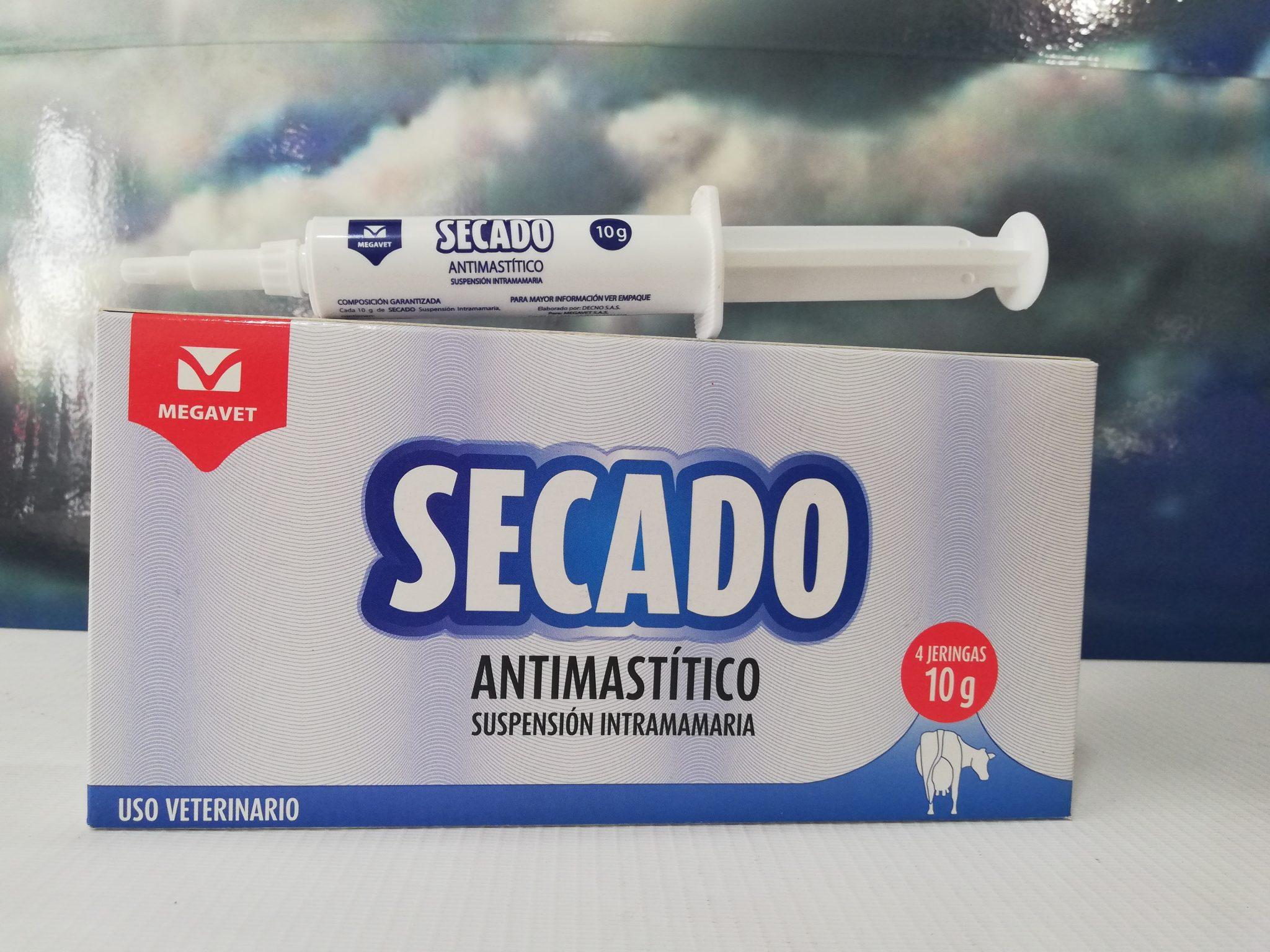 SECADO X 10 GR MEGAVET