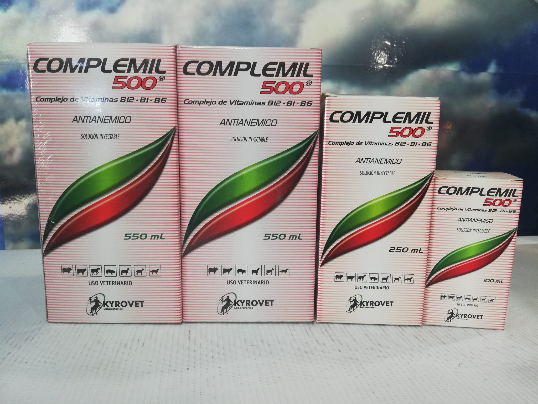 COMPLEMIL 500  X 10 ML