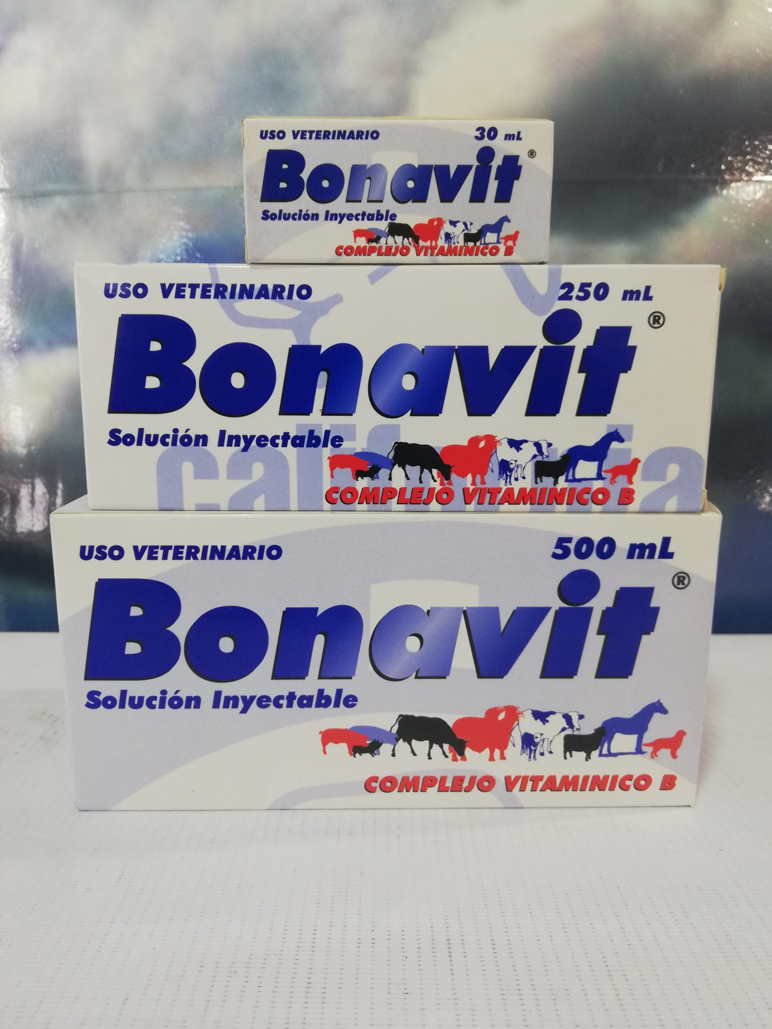 BONAVIT INY. FCO X 500ML CALIFORNIA