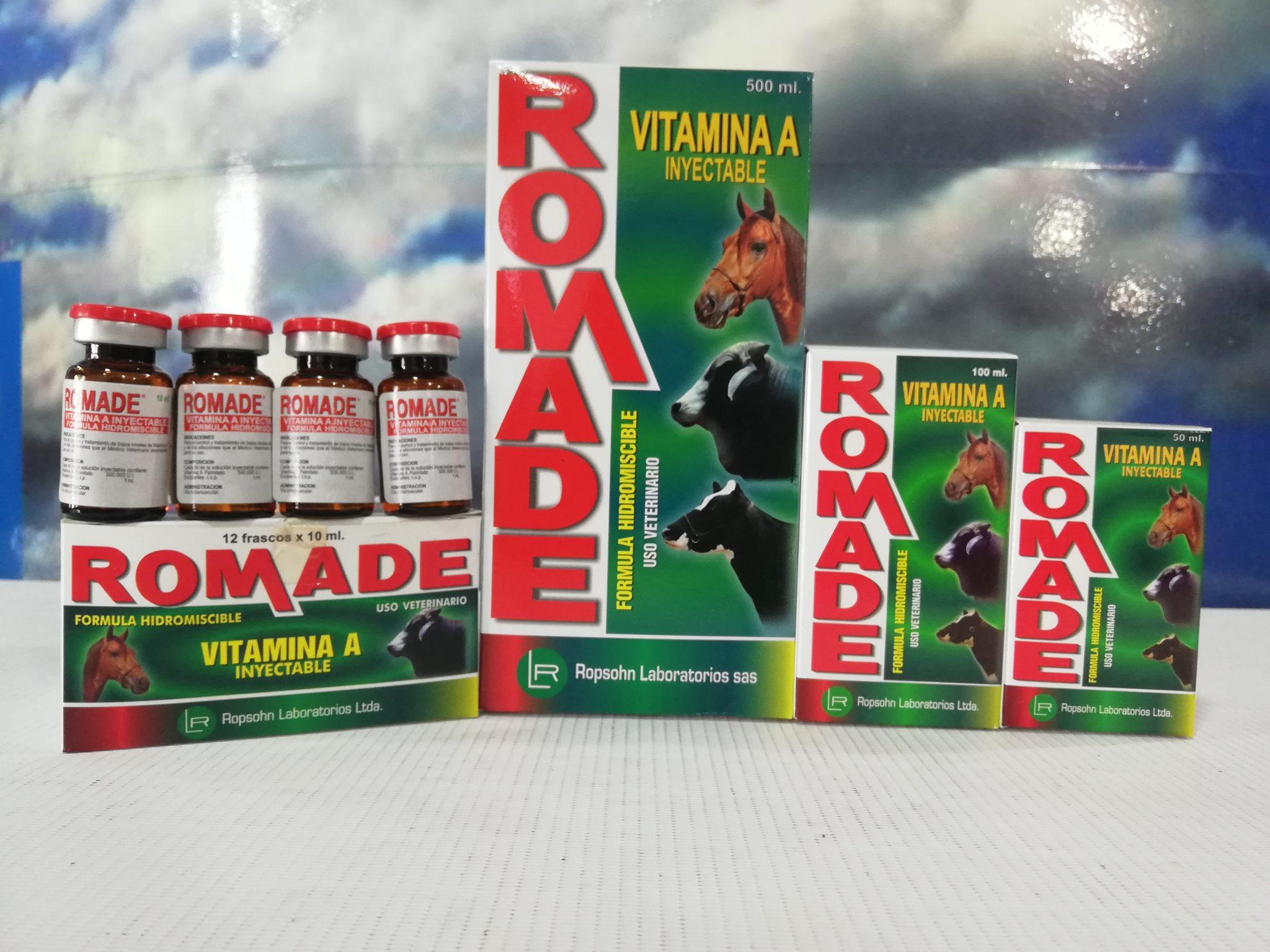 ROMADE INY. X 10 ML