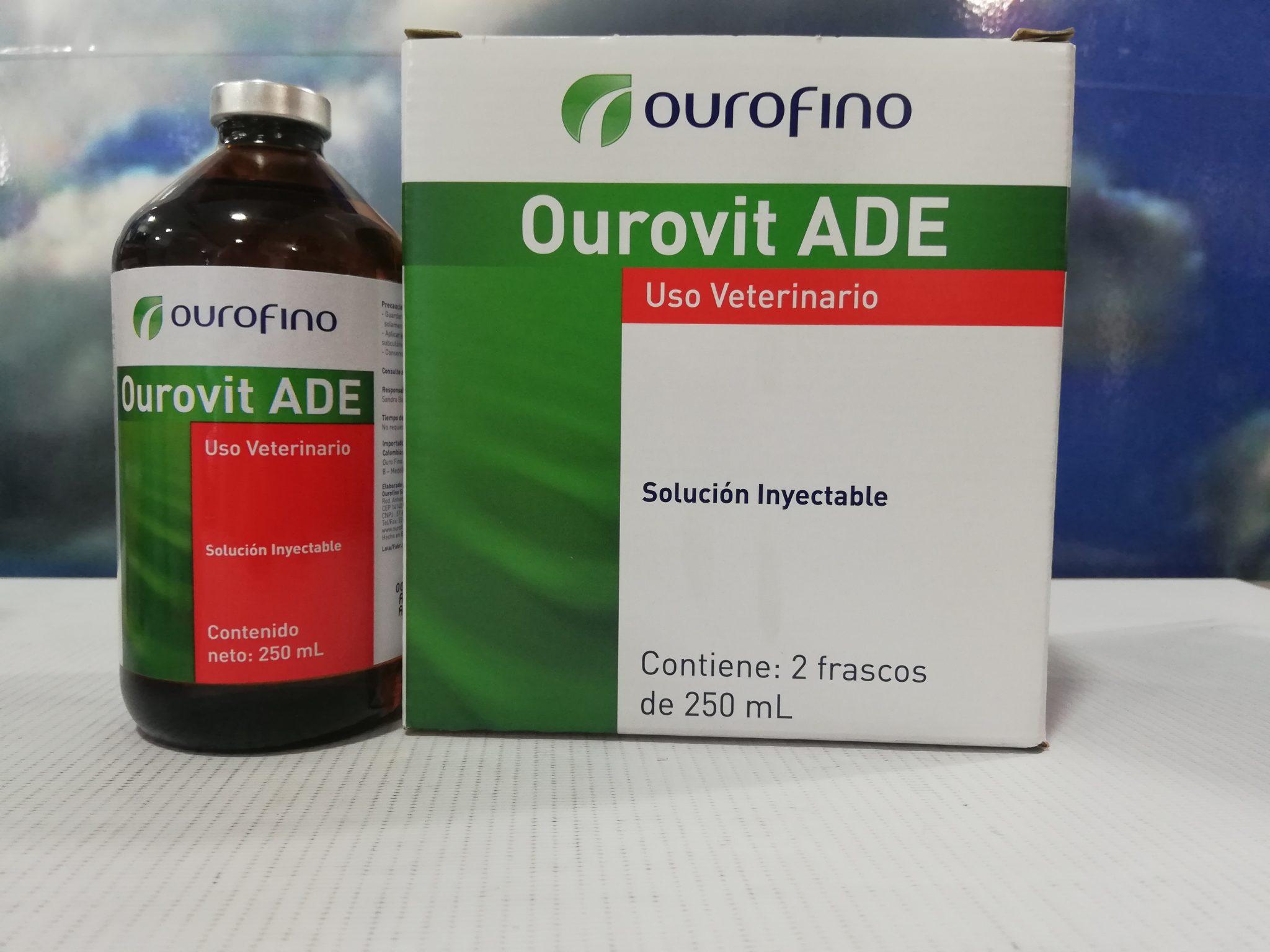 OUROVIT ADE X 250 ML