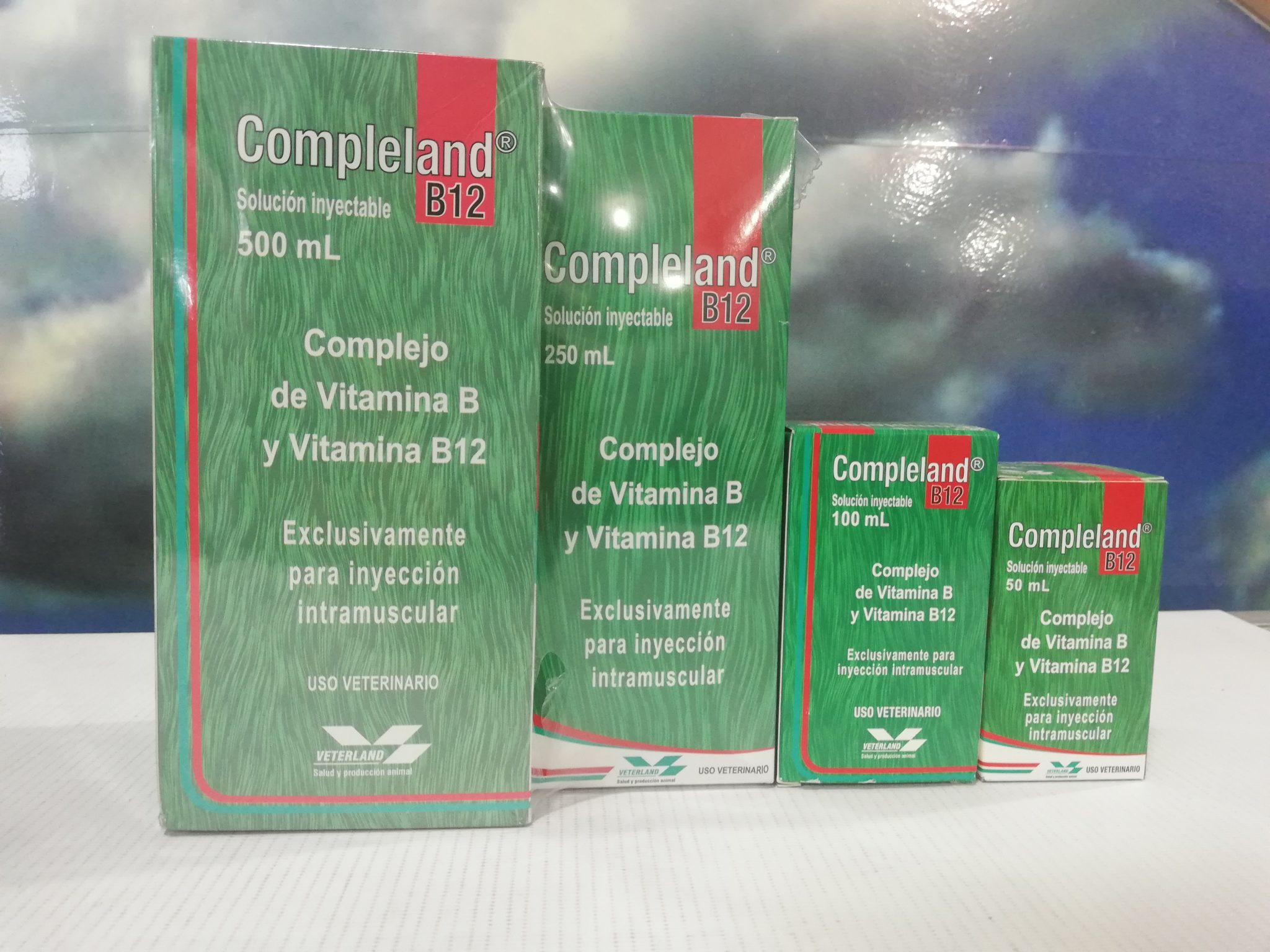 COMPLELAND B12 INY. X 50ML