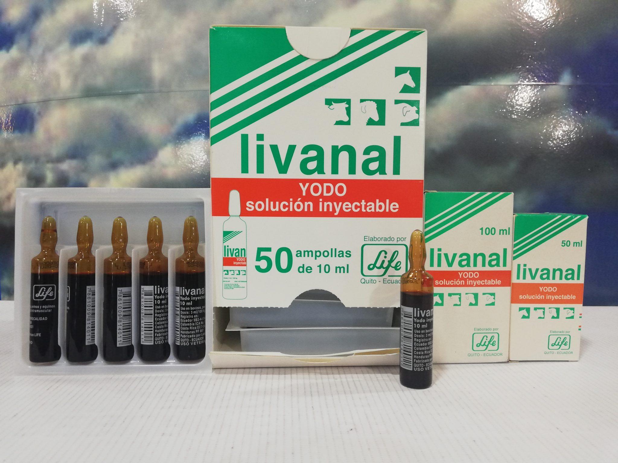 LIVANAL X 50 ML LIFE