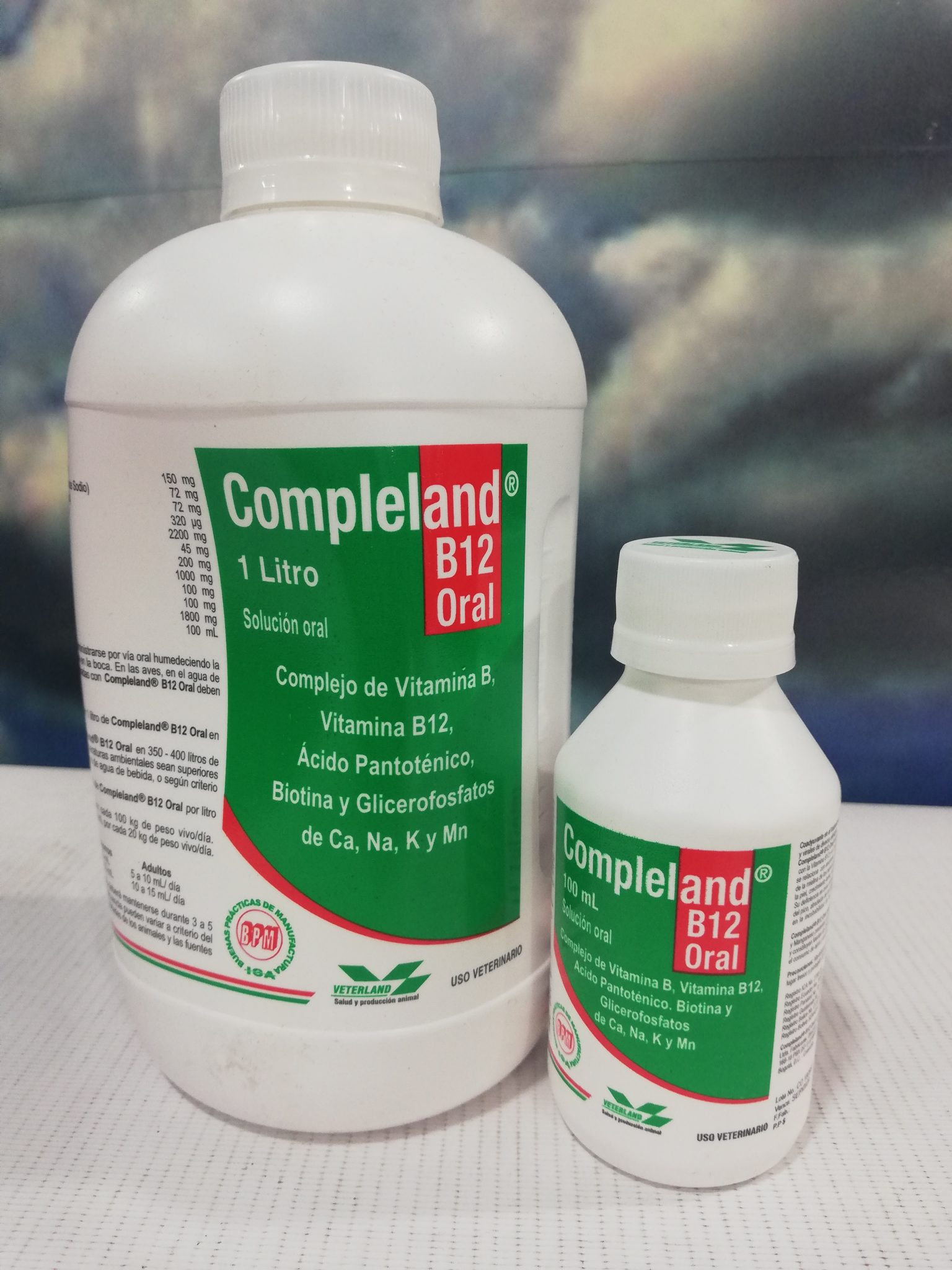 COMPLELAND B12 ORAL X 100 ML VETERLAND
