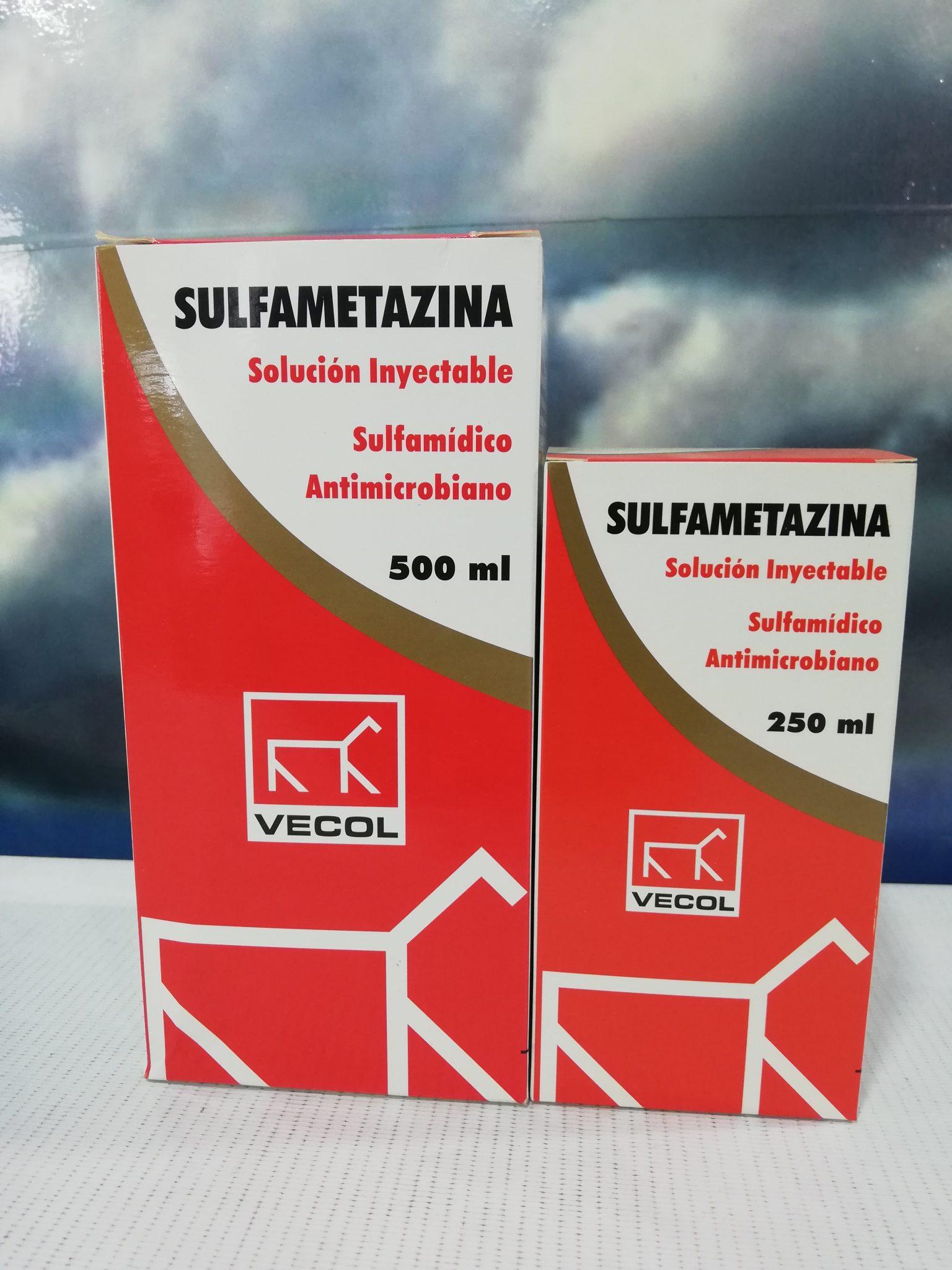 SULFAMETAZINA X 500 ML VECOL
