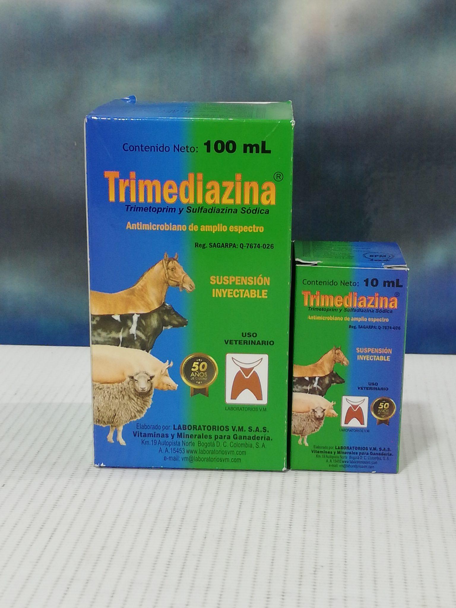 TRIMEDIAZINA INY. X 100 ML