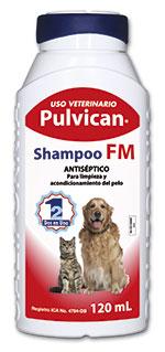 PULVICAN SHAMPOO FM FCO 120ML