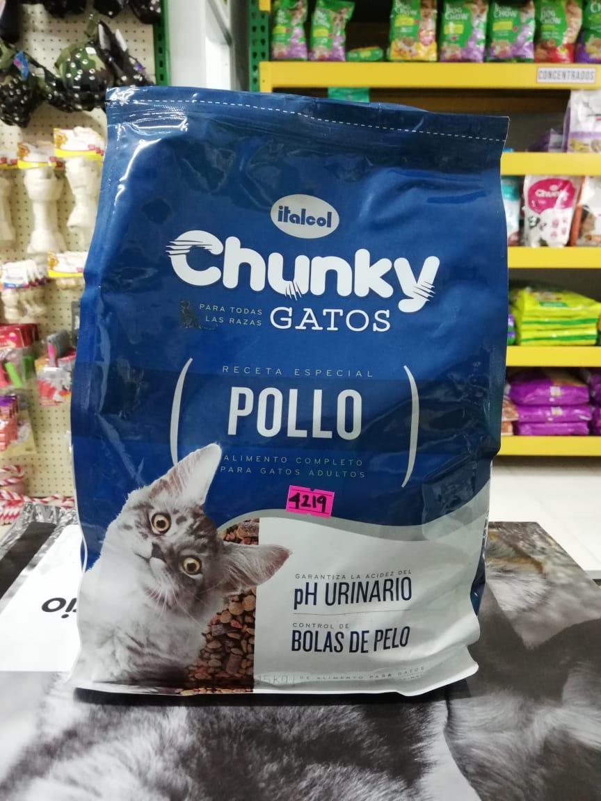 CHUNKY CATS POLLO X 1.5KG