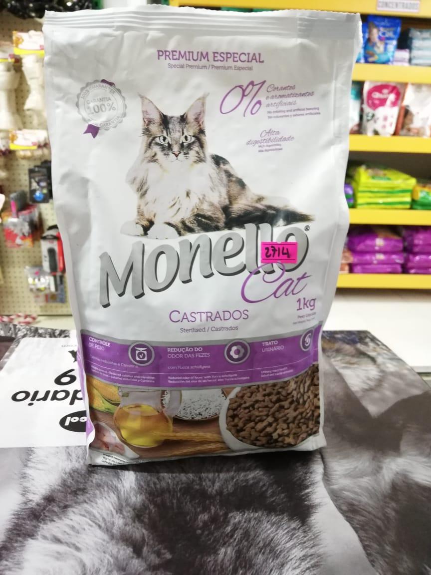 MONELLO CAT CASTRADOS PRE X 1KG