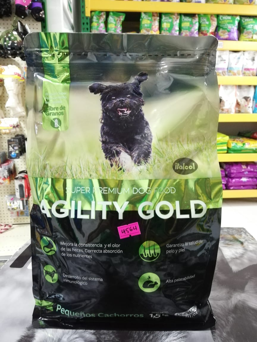AGILITY GOLD PUPPY SMALL X 1.5 KG