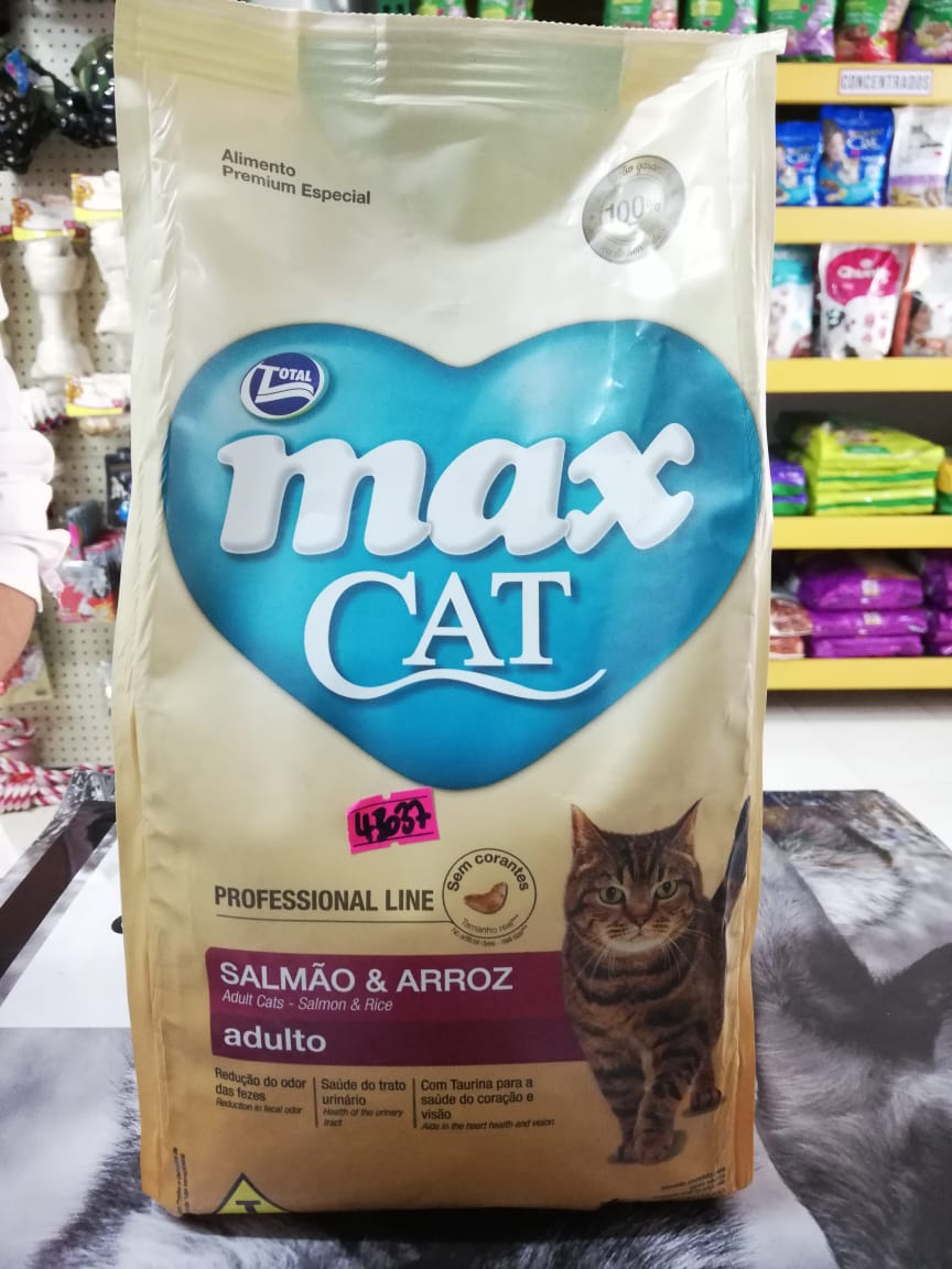 MAX CAT P LINE ADULTO SALMON & ARROZ 1K