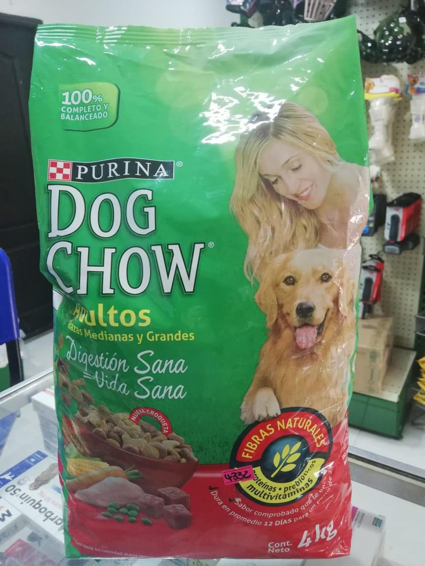 DOG CHOW ADUL R. MED/GRA X 8 KG