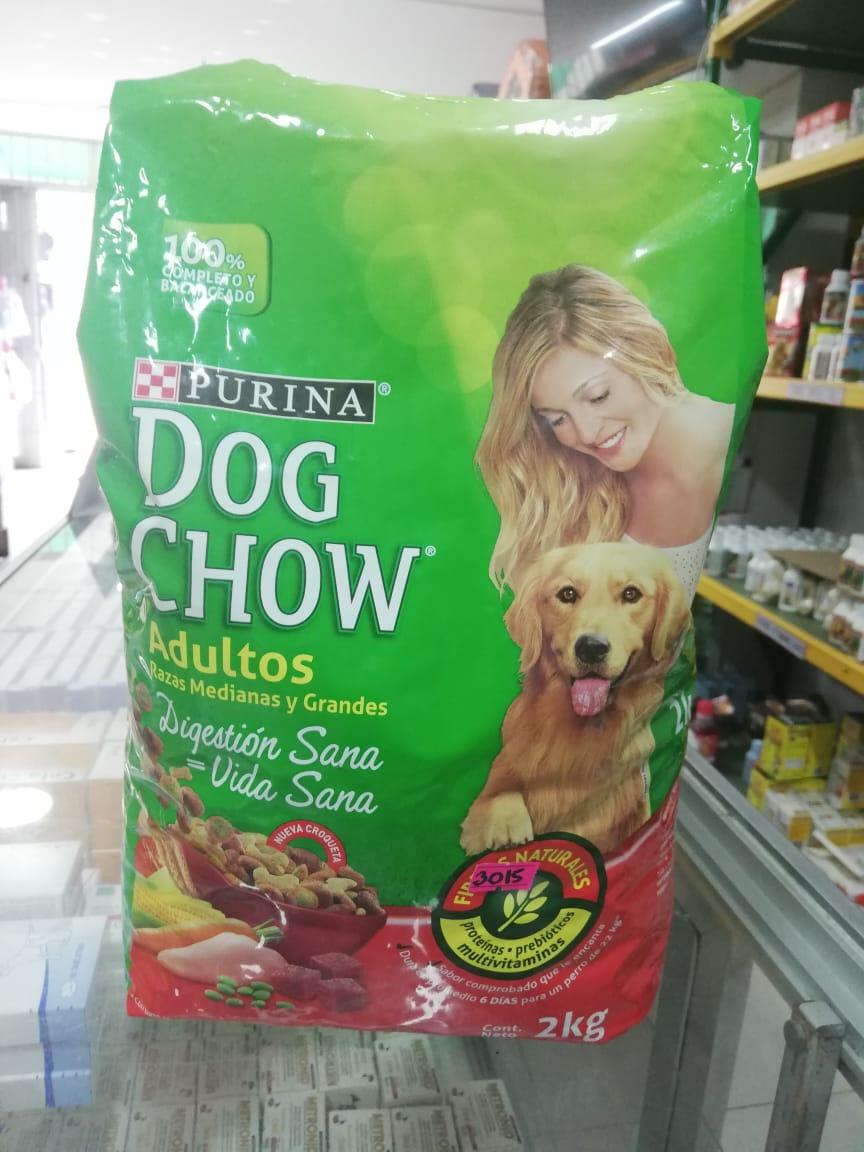 DOG CHOW CACH R. MED/GRA X 2 KG