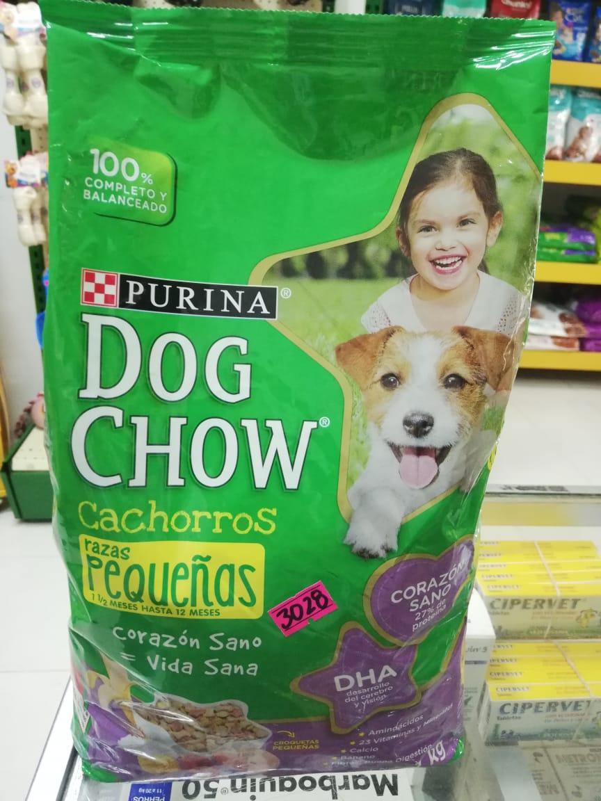 DOG CHOW CACH R. PEQ. X 8 KG
