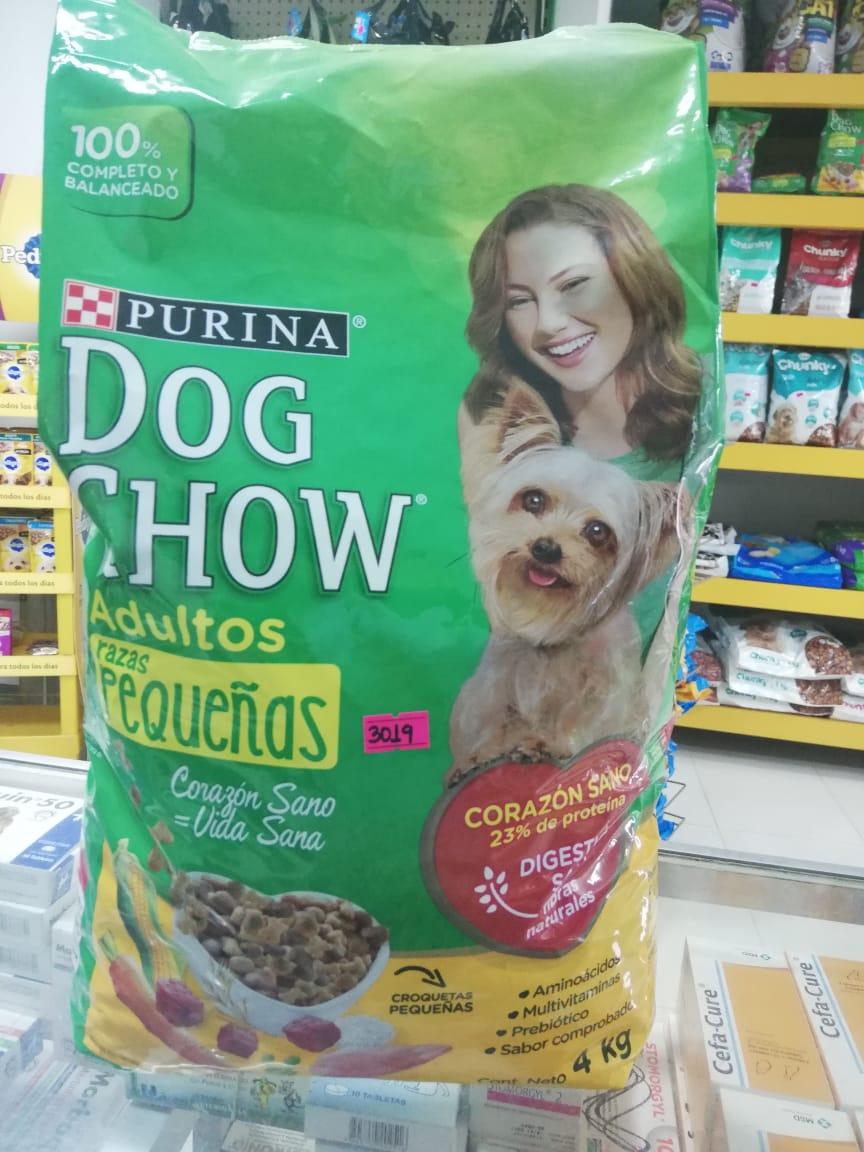 DOG CHOW CACH R. PEQ. X 4 KG