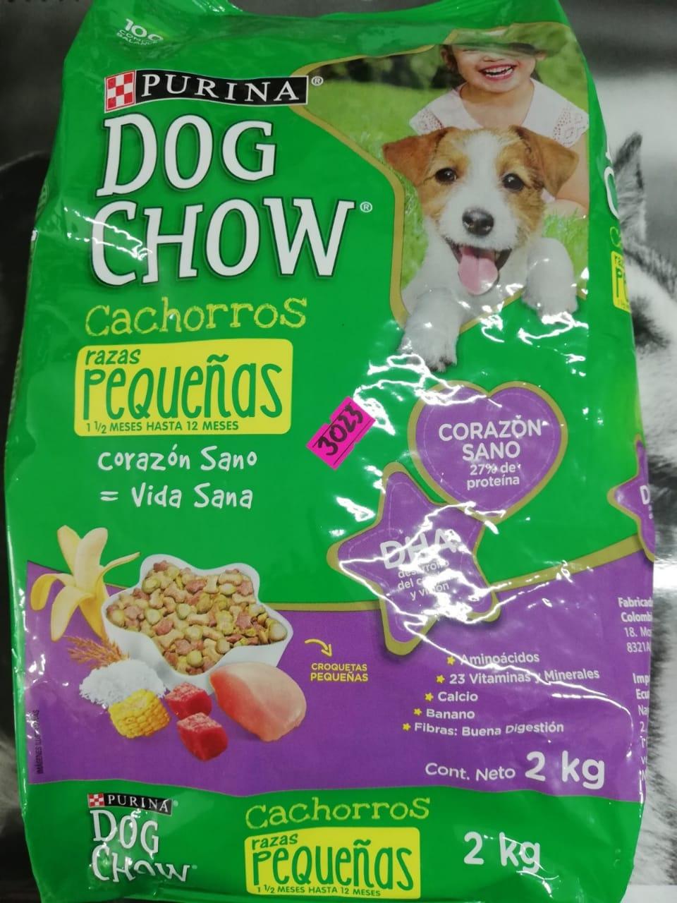 DOG CHOW CACH R. PEQ. X 2 KG